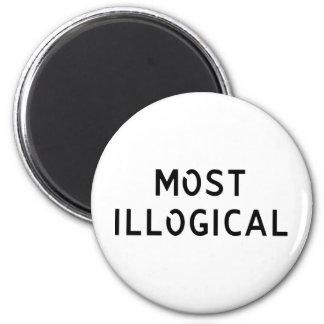 El más ilógico imán redondo 5 cm