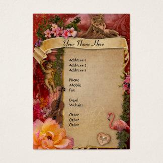 El más romántico nunca tarjeta de negocios