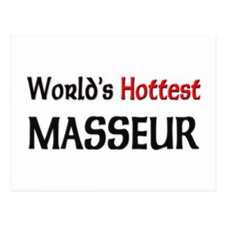 El masajista más caliente de los mundos postal