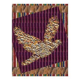 El mascota del pájaro del ángel de GoodLUCK Membrete