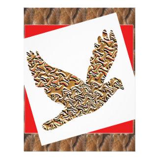 El mascota del pájaro del ángel de GoodLUCK Plantilla De Membrete