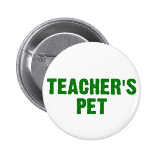 El mascota del profesor pin redondo 5 cm