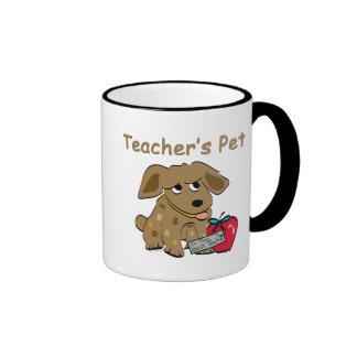 El mascota del profesor taza de dos colores