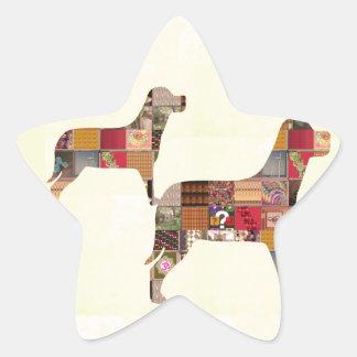 El mascota pintado de los regalos de los PERROS Colcomania Cuadrada