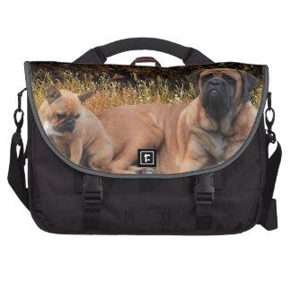 El mastín francés bolsa y bulldog bolsas para portátil
