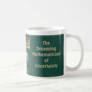 El matemático de sueño de la incertidumbre taza clásica