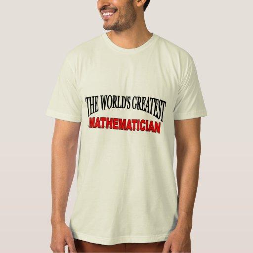 El matemático más grande del mundo playera