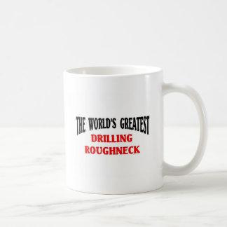 El matón más grande de la perforación taza de café