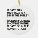 EL MATRIMONIO HOMOSEXUAL ES UN PECADO EN LA BIBLIA ORNAMENTOS DE REYES MAGOS