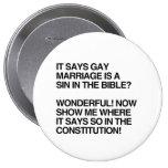 EL MATRIMONIO HOMOSEXUAL ES UN PECADO EN LA BIBLIA PINS