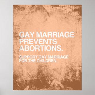 EL MATRIMONIO HOMOSEXUAL PREVIENE EL ABORTO - .PNG IMPRESIONES