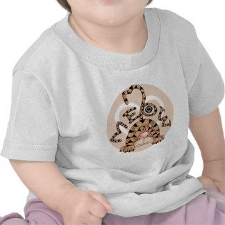 El maullido del gato camiseta
