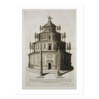 El mausoleo de Augustus y de su familia en Roma, Postal