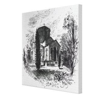 El mausoleo real, Frogmore Lona Estirada Galerías