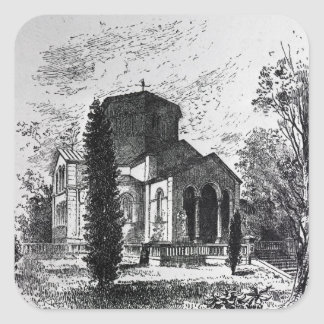 El mausoleo real, Frogmore Pegatina Cuadrada