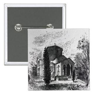 El mausoleo real, Frogmore Pin Cuadrado