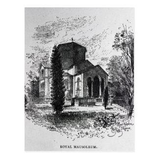 El mausoleo real, Frogmore Postales
