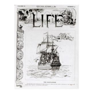 El Mayflower, portada de 'Life Tarjeta Postal