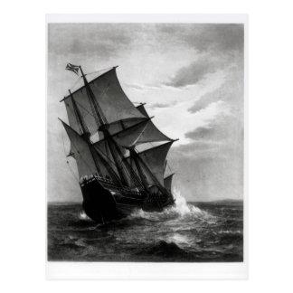 El Mayflower Tarjeta Postal