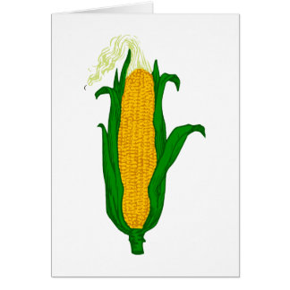 El mayo mazorca corn cob felicitacion
