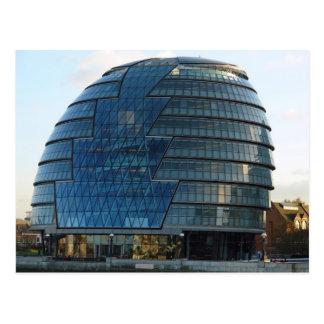 El mayor edificio de la alcaldía de Londres en Tarjetas Postales
