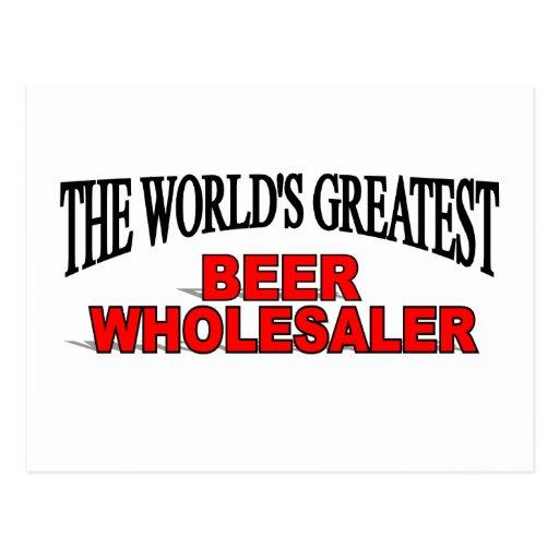 El mayorista más grande de la cerveza del mundo tarjetas postales