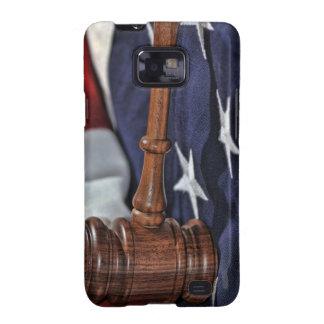 El mazo del juez de madera samsung galaxy SII funda