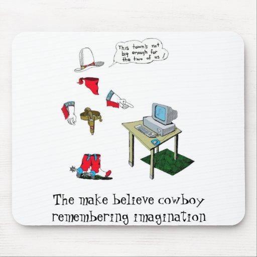 el mbc 25, hace para creer al vaquero que recuerda tapete de raton