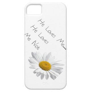 Él me ama, él me ama no funda para iPhone SE/5/5s