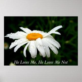 Él me ama, él me ama no póster