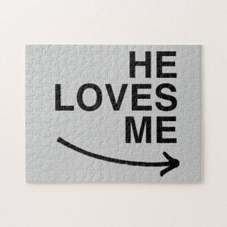 Él me ama .png (derecho) rompecabeza con fotos
