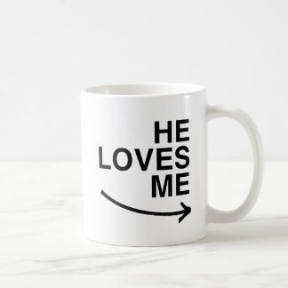 Él me ama .png (derecho) tazas de café