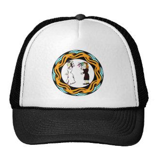 Él me casó gorra/casquillo gorras