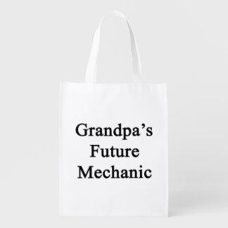 El mecánico futuro del abuelo bolsa de la compra