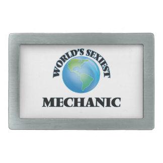 El mecánico más atractivo del mundo hebilla cinturón rectangular