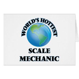 El mecánico más caliente de la escala del mundo felicitacion