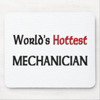 El mecánico más caliente de los mundos alfombrilla de ratón