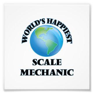 El mecánico más feliz de la escala del mundo fotografías