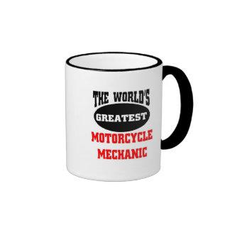 el mecánico más grande de la motocicleta del taza de dos colores
