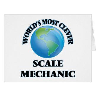 El mecánico más listo de la escala del mundo felicitacion