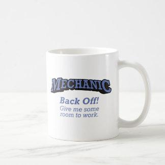 El mecánico/retrocede taza clásica