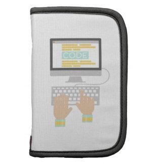 El mecanografiar del teclado planificadores