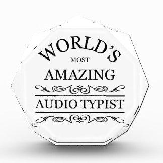 El mecanógrafo audio más asombroso del mundo
