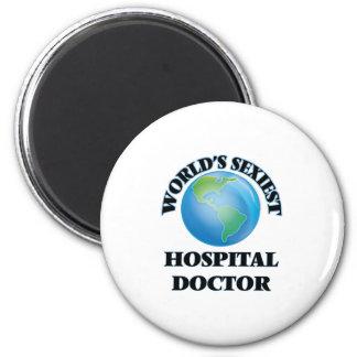 El médico del hospital más atractivo del mundo imán de frigorifico