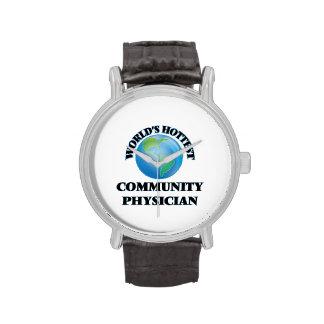 El médico más caliente de la comunidad del mundo relojes de mano