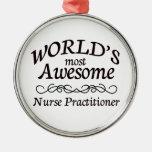 El médico más impresionante de la enfermera del ornamentos de navidad