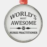 El médico más impresionante de la enfermera del mu adorno de reyes