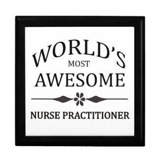 El médico más impresionante de la enfermera del mu joyero cuadrado grande