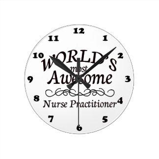 El médico más impresionante de la enfermera del mu reloj redondo mediano