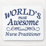 El médico más impresionante de la enfermera del mu alfombrilla de ratón
